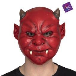 FULL DEVIL LATEX MASK